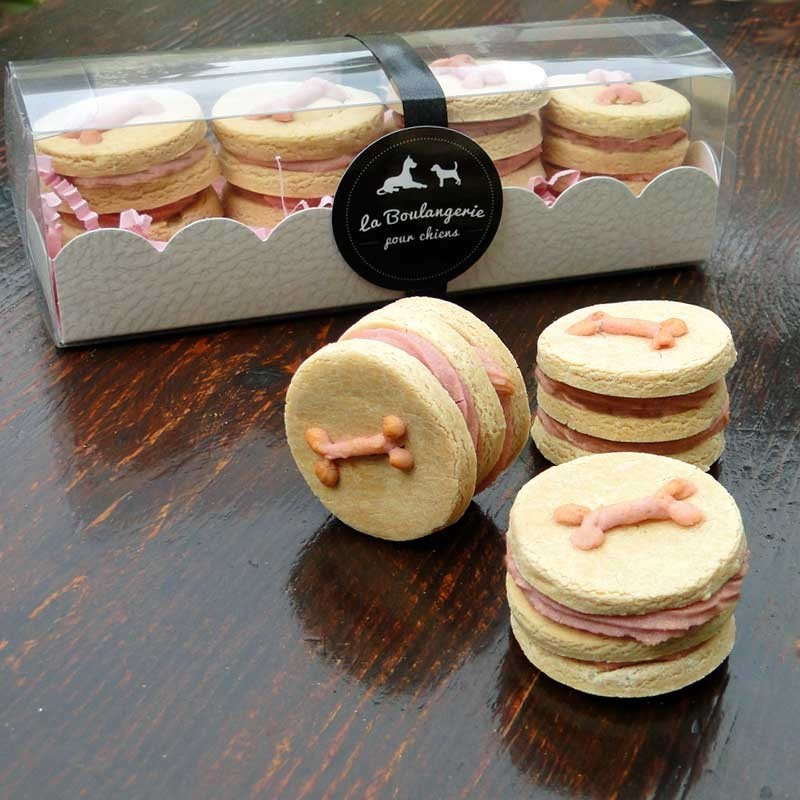 coffret biscuits gourmands la vanille pour chiens cadeau pour chien. Black Bedroom Furniture Sets. Home Design Ideas