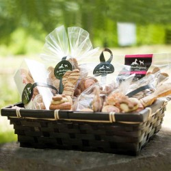 Create your own gift basket for dogs