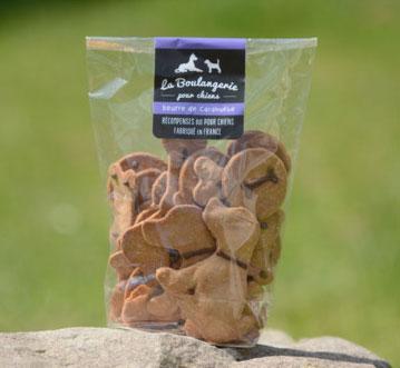 Biscuits pour chiens BIO sur Le petit chien blogger