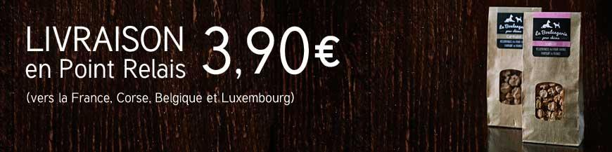 Livraison en point relais - 3,90€