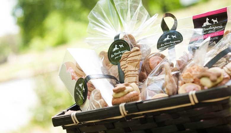 Cadeaux BIO pour chiens | Gâteau d'anniversaire | Biscuits personnalisés pour chiens