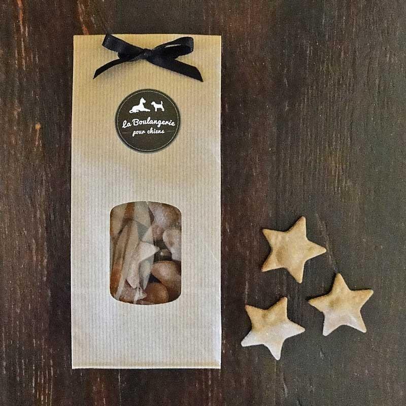 mini biscuits pain d 39 pices bio pour chiens cadeau no l pour un chien. Black Bedroom Furniture Sets. Home Design Ideas