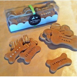 Gift box personnalised dog treats