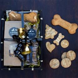 Christmas Gift Basket for dogs