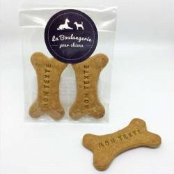 Sachet de 2 biscuits personnalisés - lot de 10