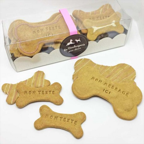 Gift box personnalised dog treats