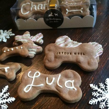 Coffret biscuits Noël pour chiens