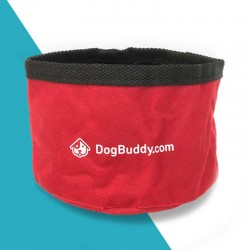 Foldable dog water bowl by DogBuddy