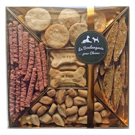 Coffret Luxe Biscuits BIO chiens