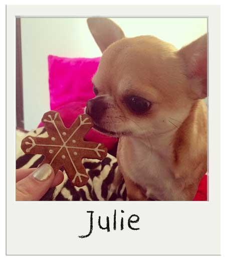Julie et ses chichis !
